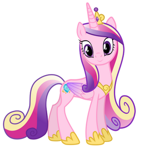 FANMADE Princess Cadance vector picture