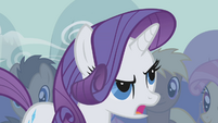 "Rarity ""my, my, my"" S1E06"