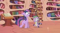 Twilight & Spike teleported S1E3