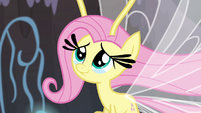 Fluttershy with tears of joy S4E16