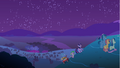 Spike and Twilight walking up the hill S1E24.png