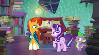 "Sunburst ""I-I can't even come close to doing something like that!"" S6E2"