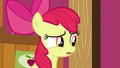 Apple Bloom's eyes dart back and forth S6E23.png