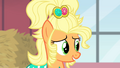 Applejack telling Rarity the dress is hers S4E13.png