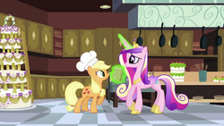 Cadance taking the bag S2E25.png
