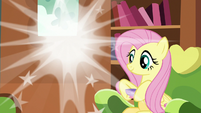 Discord poofs out of Fluttershy's house again S7E12