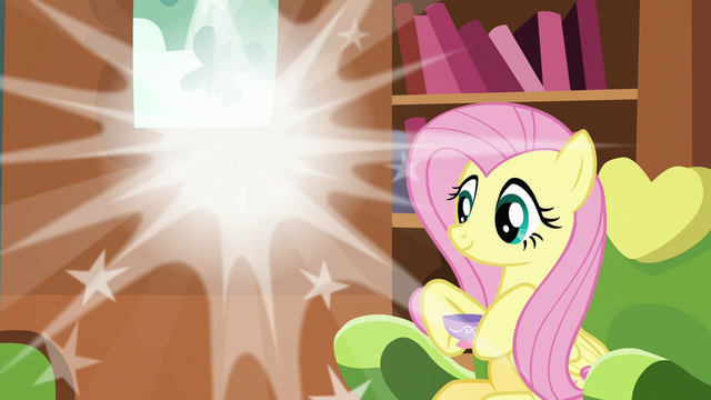 File:Discord poofs out of Fluttershy's house again S7E12.png