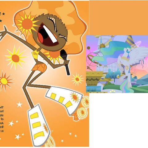 File:FANMADE Celestia for Applejack the pony.jpg