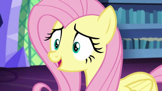 "File:Fluttershy confident ""I am"" S5E21.png"