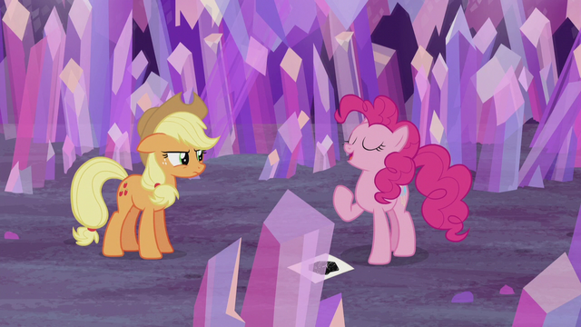 """File:Pinkie Pie """"I get to raise the flag"""" S5E20.png"""