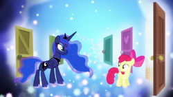 """Princess Luna """"it's been a busy night for us all"""" S5E4"""