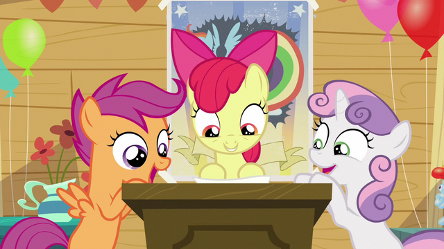 """File:Sweetie Belle and Scootaloo """"What?!"""" S5E04.png"""