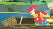 The Apples trying to get the map S4E09.png