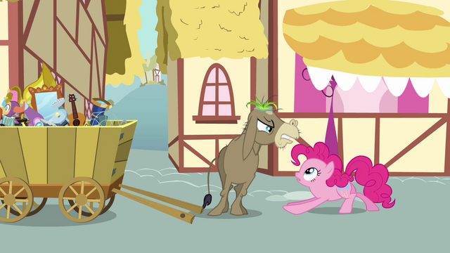 File:Cranky Doodle Donkey angry at Pinkie S02E18.png