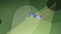 Discord holding a trapeze S4E11