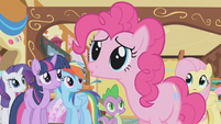 "Pinkie Pie ""I did this party to improve your attitude"" S1E05"