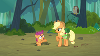 Scootaloo 'just thought I heard something' S3E06