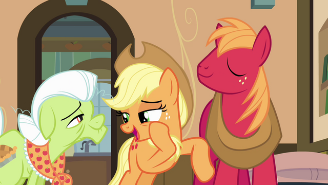 "File:Applejack ""don't want to make them jealous"" S4E09.png"