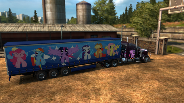 File:FANMADE ETS2 Peterbilt 379 EXHD Twilight Skin 2.png