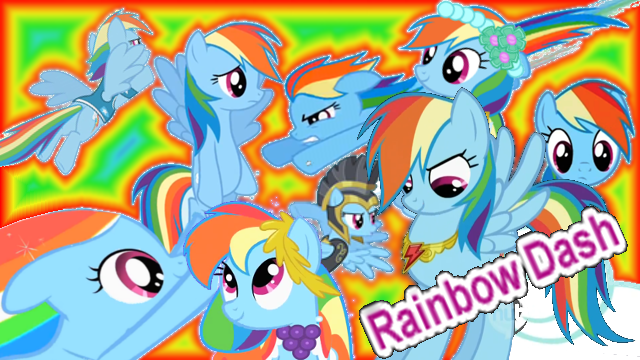 File:FANMADE Rainbow Dash Collage Mewkat14.png