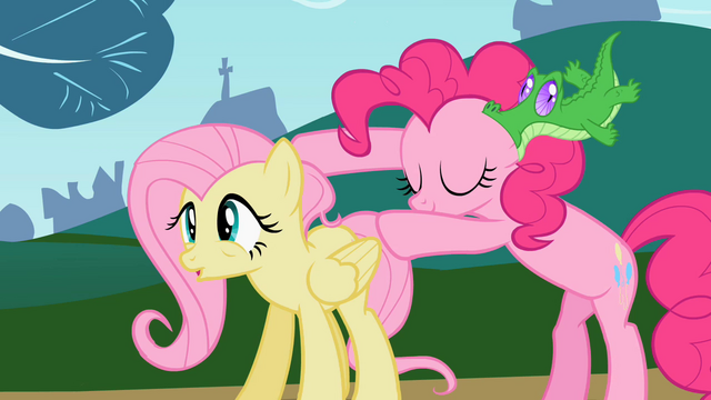 File:Pinkie Pie and Fluttershy S02E07.png
