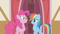 "Rainbow Dash ""you wanna hang out?"" S1E05"