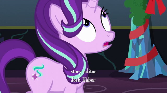 """File:Starlight """"It's mostly a day dedicated to..."""" S6E8.png"""