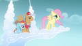 Fluttershy about to fly (Flashback) S2E22.png