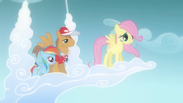 File:Fluttershy about to fly (Flashback) S2E22.png