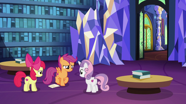 "File:Scootaloo ""find out what's going on"" S6E19.png"