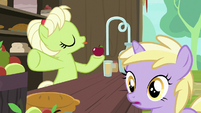 Young Granny dismissing Grand Pear S7E13