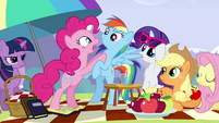 Pinkie Pie 'If you get in' S3E7