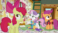 "Sweetie Belle ""can't believe you tried all this stuff"" S6E4"