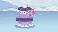 Twilight with a surprised face S1E11