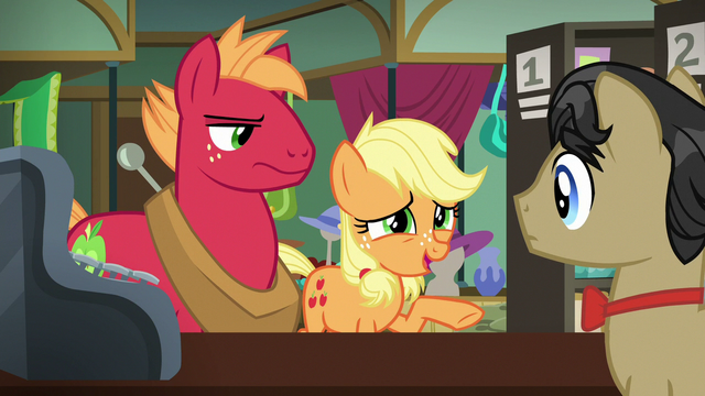 File:Young Applejack tries to talk to Filthy Rich S6E23.png