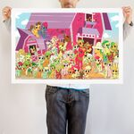 Apple Family Portrait art print WeLoveFine
