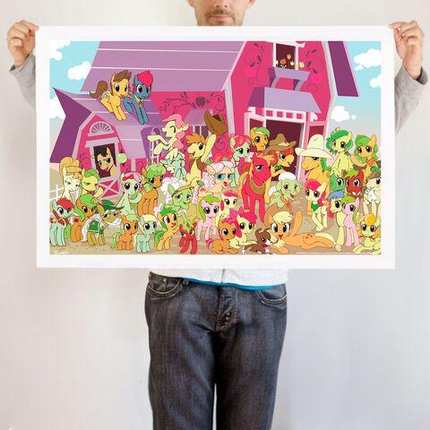 File:Apple Family Portrait art print WeLoveFine.jpg