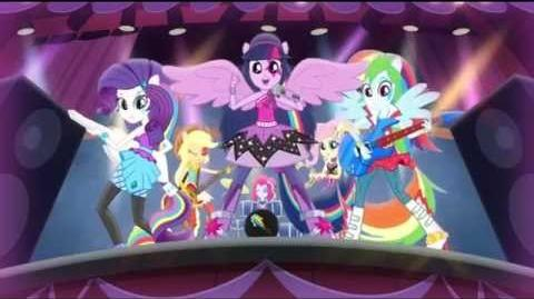 Dutch Equestria Girls Rainbow Rocks Animated Shorts Perfect Day for Fun-1431698473