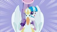 Rarity starts singing Derby Racers S6E14
