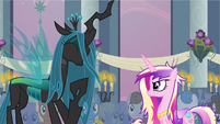Queen Chrysalis giggling S2E26