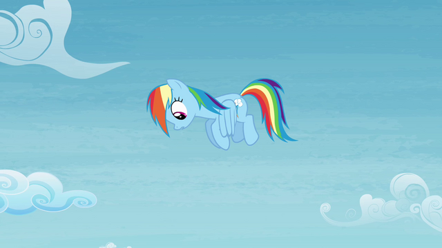 File:Rainbow sees Bulk fall down S4E10.png