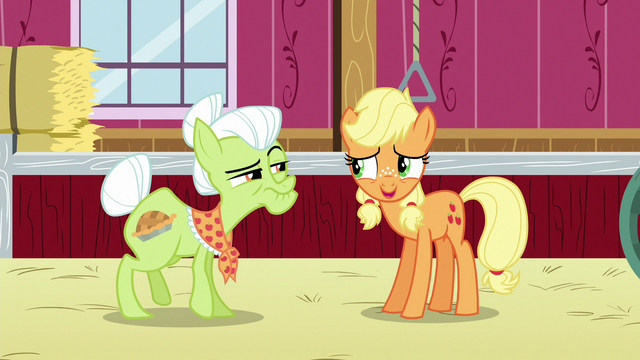 """File:Young Applejack """"oh, good"""" S6E23.png"""