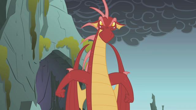 File:Dragon turns toward Fluttershy S1E07.png