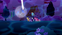 Mane Six run up to Princess Luna S5E13