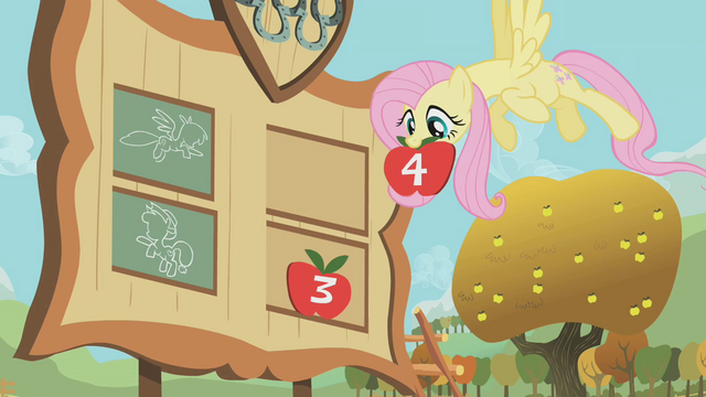 File:Fluttershy after the hoof wrestling match S01E13.png