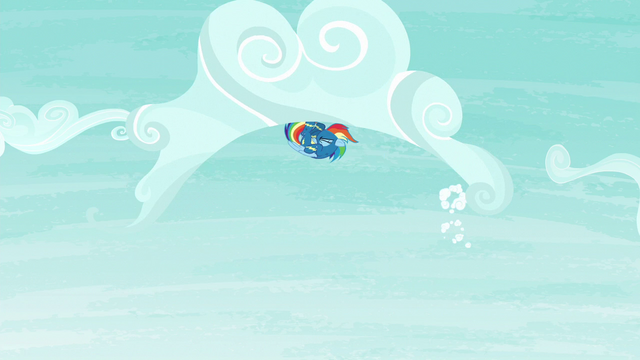 File:Rainbow Dash rolling through a cloud S6E7.png