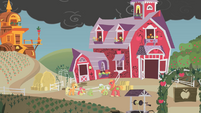 Sweet Apple Acres exterior shot S01E07