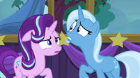 Trixie looking behind Starlight S6E6