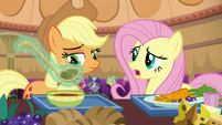 "Fluttershy ""it certainly isn't for Gladmane"" S6E20"