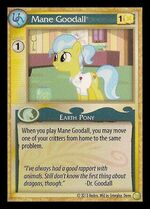 Mane Goodall demo card MLP CCG